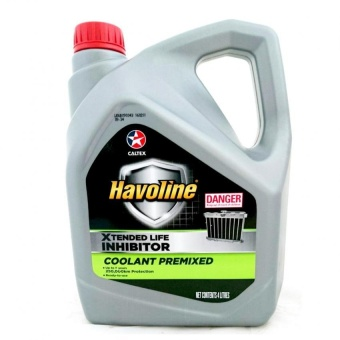 Caltex Havoline Coolant Premixed Up to 5 years or 250,000km Protection Ready to use 4ลิตร