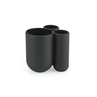 Umbra ที่วางแปรงสีฟัน Touch Molded Toothbrush Holder, Black