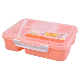 OH Portable Microwave Lunch Box for Kids 5+1 Food Container Plastic Food Box