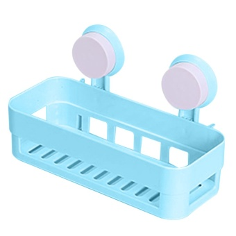 Multipurpose Bathroom Shelf(Blue)