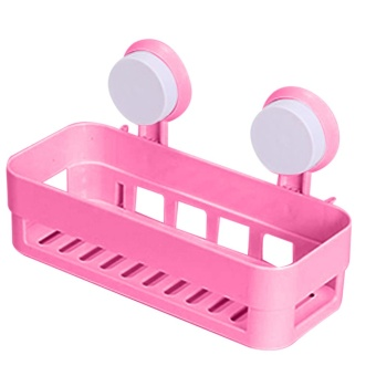 Multipurpose Bathroom Shelf(Pink)