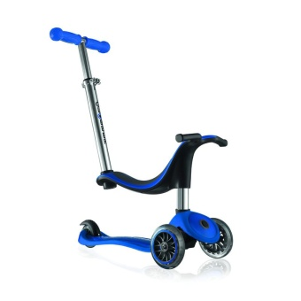 Globber Scooter รุ่น My Free Seat 4 in 1 ( Navy Blue )