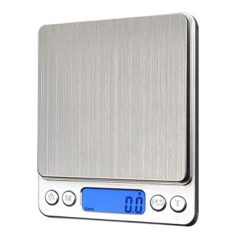1000g x 0.1g Digital Pocket Scale Jewelry Weight Electronic Balance Scale - Intl
