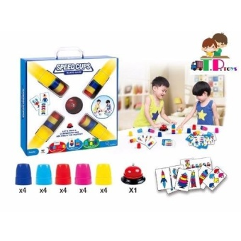 T.P.TOYS SPEED CUPS BOARD GAME (White)