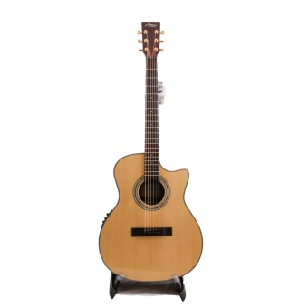 Atman Guitars Acoustic Guitar Grand Auditorium Cutaway Top Solid Engelmann Spruce S/B Rosewood With EQ Fishman Presys Blend 301 รุ่น GA1CE (Wood)