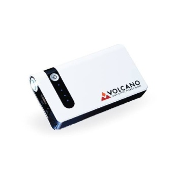 Volcano jumpstart powerbank 8000 mAh รุ่น Smart (สีขาว/ดำ)