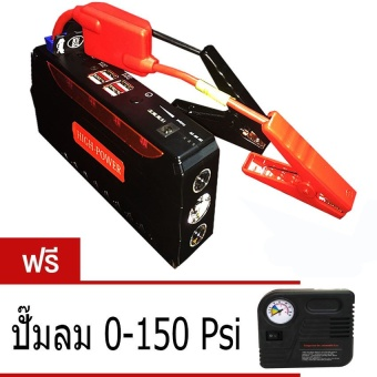 Jump Starter Power Bank12-19 V 68800 mAh รุ่น TM-18B Muli-Function (Red/Black) ฟรี ปั๊มลม