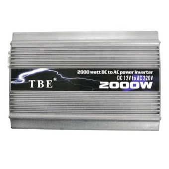 Tbe Inverter 2000 watt with special USB (Silver)