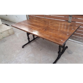 Industrial style dining table/Work desk from Anvil Ironworx