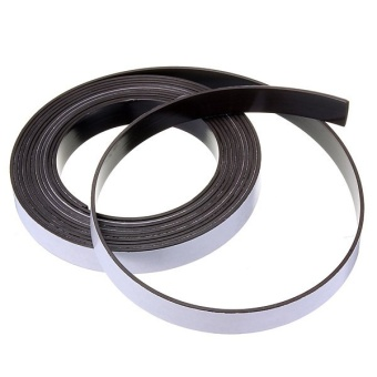 """3m Self Adhesive Rubber Magnetic Tape Magnet Strip 12.7mm (1/2"""") Wide x 1.5mm"""""""