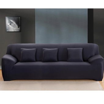 High Quality Store New Fashion L-Shape Textile Spandex 3 Seaters Sofa Cover Furniture Protector Couch Slipcover Home Decoration