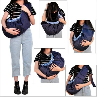 Adjustable Side Carry Newborn Baby Wrap Carrier Front Facing Infant Sling #3 - intl