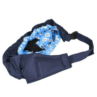 Baby Sling Carrier (Blue)