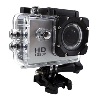 Ck Mobile Sport Action Camera 2.0 LCD Full HD 1080P No WiFi (สีเงิน)
