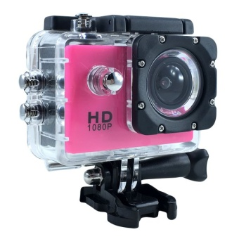 Ck Mobile Sport Action Camera 2.0 LCD Full HD 1080P No WiFi (สีชมพู)