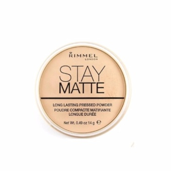 RIMMEL London Stay Matte Long Lasting Pressed Powder No.001 Transparent 14 g.