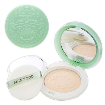 Skinfood White Grape Fresh Light Pact เบอร์ 21 Skin Beige
