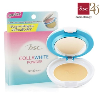 BSC COLLAWHITE POWDER SPF 30 PA++ สี C2