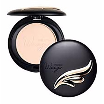 Mistine แป้งตลับ Wings Extra Cover Super Powder SPF25 PA++ No.S1 (ผิวขาว)