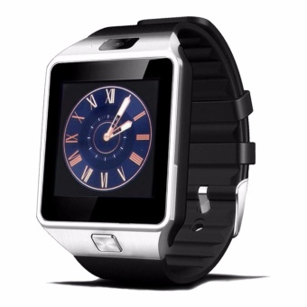DZ09 Smart Watch Bluetooth Touch Screen for Android and iOS(silver black) - intl