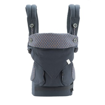 PENNY Four Position 360 Baby Carrier Dusty (Blue) - intl