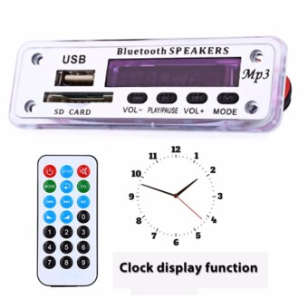 M01BT MP3 Decoder Board Bluetooth Hands-free Call Remote Control Power Cut Memory Function - intl