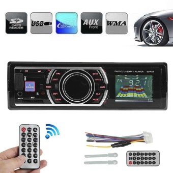 Bluetooth V2.0 Car Audio Stereo Autoradio Car Radio 12V In-dash 1Din FM Radio - intl ร้านค้าดี ราคาถูกสุด - RanCaDee.com