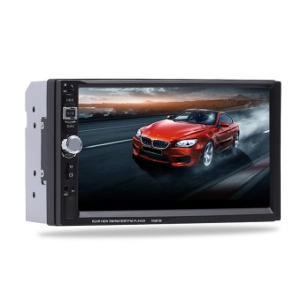 7 inch 2 Din Bluetooth Touch Screen Car Radio Android Phone WithCamera - intl ร้านค้าดี ราคาถูกสุด - RanCaDee.com