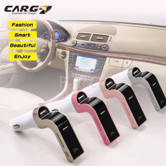 บลูทูธในรถยนต์ Bluetooth Car Charger FM Modulator CAR G7 Gold