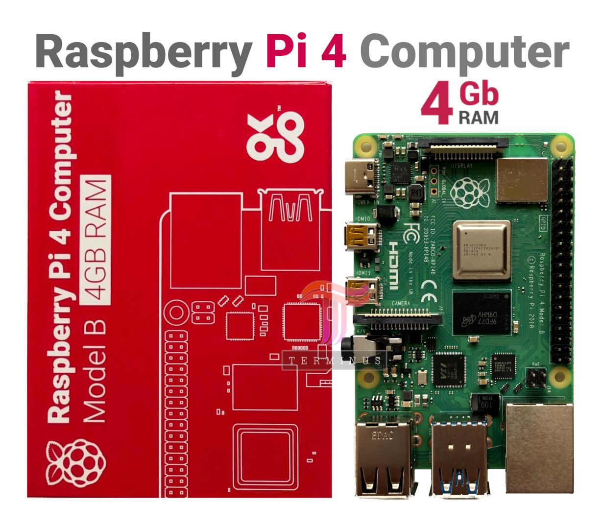 Raspberry Pi 4 Model B 4GB (Made in UK)